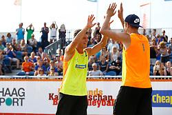 20150830 NED: NK Beachvolleybal 2015, Scheveningen<br />Dirk Boehle, Steven v.d. Velde