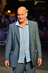 © Licensed to London News Pictures. 15/10/2017. London, UK. WOODY HARRLESON attends the Three Billboards Outside Ebbing Missouri Film UK Premiere showing as part of the 51st BFI London Film Festival. Photo credit: Ray Tang/LNP