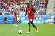 Portugal Midfielder William Carvalho during the Euro 2016 final between Portugal and France at Stade de France, Saint-Denis, Paris, France on 10 July 2016. Photo by Phil Duncan.