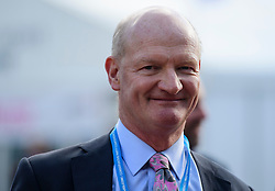 © Licensed to London News Pictures. Birmingham, UK. DAVID WILLETTS MP the 2016 Conservative Party Conference. Photo credit: Ben Cawthra/LNP