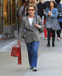 Judge Judy Sheindlin is seen in Los Angeles, CA.