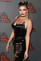 Olivia Buckland, Kiss FM Haunted House Party 2016 - VIP Arrivals, The SSE Arena Wembley, London UK, 27 October 2016, Photo by Brett Cove