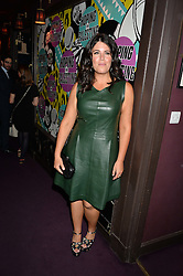 MONICA LEWINSKY at Hoping's Greatest Hits - the 10th Anniversary of The Hoping Foundation's charity benefit held at Ronnie Scott's, 47 Frith Street, Soho, London on 16th June 2016.