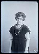 adult woman studio portrait France circa 1920s