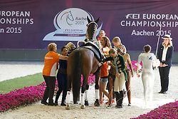 Roy Rogers Team, (NED), CSI Hercules<br /> Squed Final Freestyle Test<br /> FEI European Championships - Aachen 2015<br /> © Hippo Foto - Dirk Caremans<br /> 23/08/15
