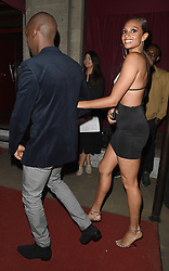 """Amanda Holden and Alesha Dixon arrive at the Grosvenor House Hotel, following the final of reality TV show """"Britain's Got Talent"""" on which both are judges. 03 Jun 2018 Pictured: Alesha Dixon. Photo credit: Will / MEGA TheMegaAgency.com +1 888 505 6342"""