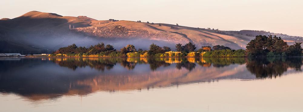 Christchurch Estuary Morning Mist