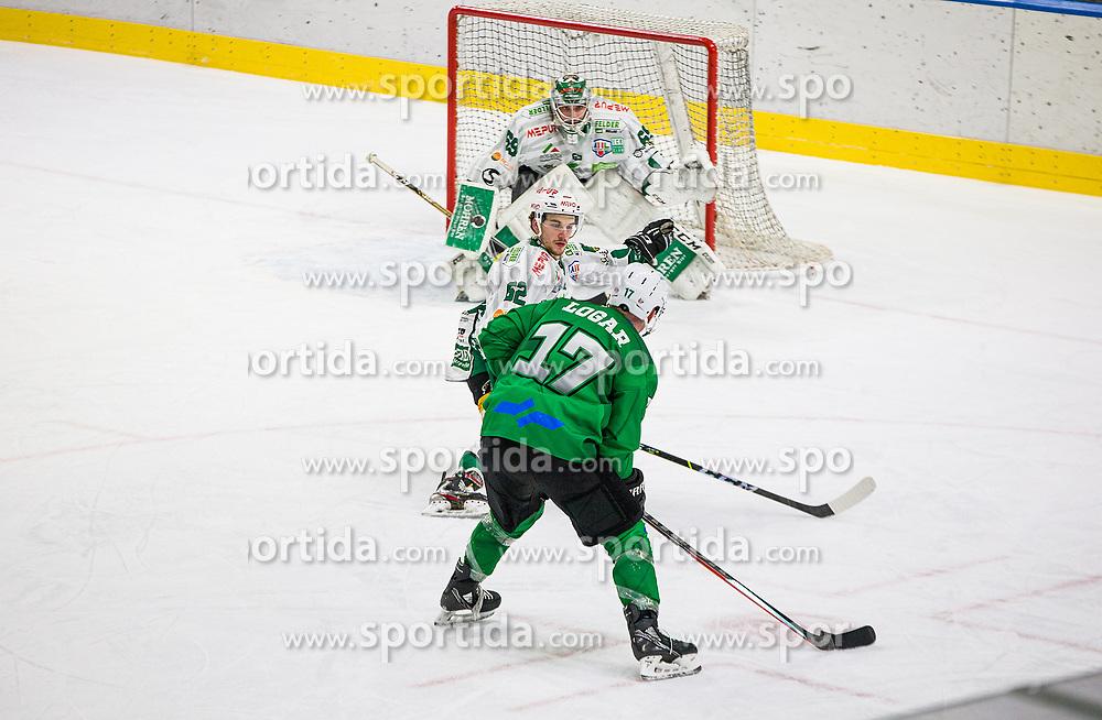 17# Logar Miha of HK SZ Olimpija during the match of Alps Hockey League 2020/21 between HK SZ Olimpija Ljubljana vs. EC Bregenzerwald, on 09.01.2021 in Hala Tivoli in Ljubljana, Slovenia. Photo by Urban Meglič / Sportida