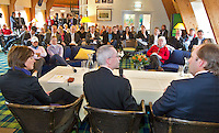 VLAARDINGEN - Persconferentie ABN Amro Ladies Open op Golfbaan Broekpolder COPYRIGHT KOEN SUYK