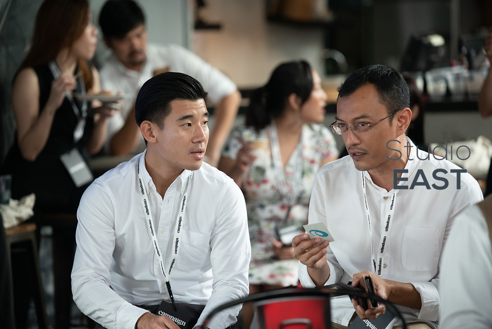 Networking break and refreshments during Asia's Top 1000 Brands in Esplanade, Singapore, Singapore, on 6 September 2018. Photo by Steven Lui/Studio EAST