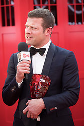 EDITORIAL USE ONLY<br /> Dermot O'Leary in Virgin TV's Must-See Moment Lounge at the Virgin TV British Academy Television Awards.