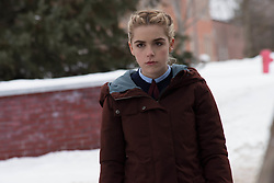 RELEASE DATE: February 16, 2017 TITLE: The Blackcoat's Daughter STUDIO: Unbroken Pictures DIRECTOR:  Oz Perkins PLOT: Two girls must battle a mysterious evil force when they get left behind at their boarding school over winter break. STARRING: KIERNAN SHIPKA. (Credit Image: ? Unbroken Pictures/Entertainment Pictures/ZUMAPRESS.com)