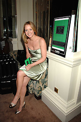 KATE REARDON  at a party to celebrate the publication of Top Tips For Girls by Kate Reardon held at Claridge's, Brook Street, London on 28th January 2008.<br />