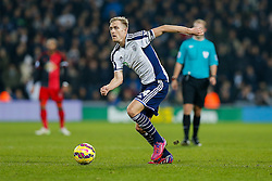Darren Fletcher of West Brom in action - Photo mandatory by-line: Rogan Thomson/JMP - 07966 386802 - 11/02/2015 - SPORT - FOOTBALL - West Bromwich, England - The Hawthorns - West Bromwich Albion v Swansea City - Barclays Premier League.