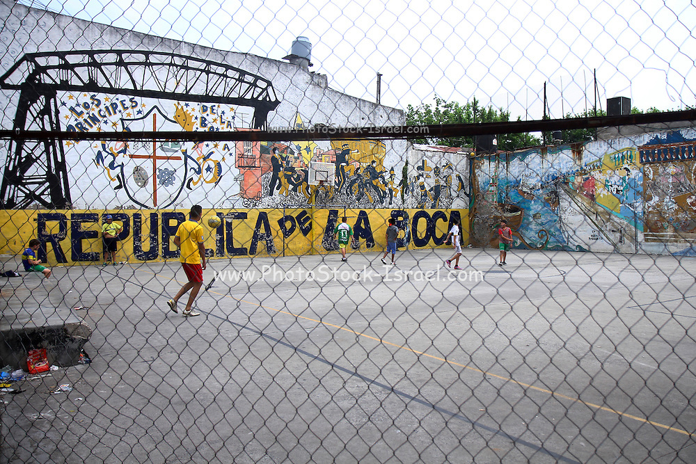 La Boca neighbourhood, Buenos Aires, Argentina