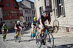 Pauline Ferrand Prevot (FRA) at La Flèche Wallonne Femmes 2018, a 118.5 km road race starting and finishing in Huy on April 18, 2018. Photo by Sean Robinson/Velofocus.com