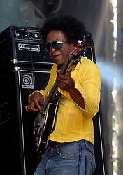 SPA, BELGIUM - JULY-23-2006 -  Da Hush perform live at the Francofolies de Spa, music festival. (Photo © Jock Fistick)