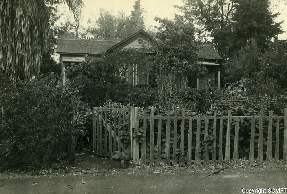1910 Eugene Plummer's home at Plummer St. near Santa Monica blvd.