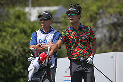 March 21, 2018 - Austin, TX, U.S. - AUSTIN, TX - MARCH 21: Kevin Na (USA) reaches for a club during the First Round of the WGC-Dell Technologies Match Play on March 21, 2018 at Austin Country Club in Austin, TX. (Photo by George Walker/Icon Sportswire) (Credit Image: © George Walker/Icon SMI via ZUMA Press)