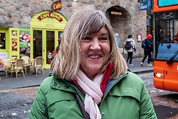Pictured: Lothian MSP Alison Johnstone <br /><br />Scottish Green Party co-leader Lorna Slater and Lothian MSP Alison Johnstone joined Edinburgh General Election candidates as they canvased voters..<br /><br />Ger Harley | EEm 12 November 2019