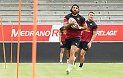 Picture by Laurent Selles/Catalans Dragons/via SWpix.com - 10/07/2020 Rugby League Betfred Super League 2020<br /> Back in training. Catalans Dragons' Antoni Maria back in training today at Stade Gilbert Brutus, Perpignan - France after the long lay off due to Coronavirus Covid 19 Pandemic