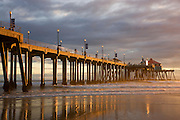 The Huntington Beach Pier Orange County, California