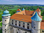 Widok zamku od strony południowo-zachodniej