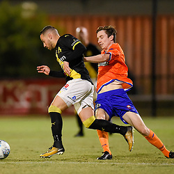 BRISBANE, AUSTRALIA - SEPTEMBER 18:  during the NPL Finals Series match between Lions FC and Heidelberg United on September 18, 2018 in Brisbane, Australia. (Photo by Patrick Kearney)
