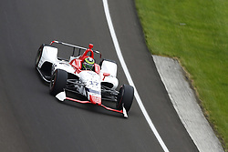 May 18, 2018 - Indianapolis, Indiana, United States of America - CONOR DALY (17) of the United States brings his car through turn one during ''Fast Friday'' practice for the Indianapolis 500 at the Indianapolis Motor Speedway in Indianapolis, Indiana. (Credit Image: © Chris Owens Asp Inc/ASP via ZUMA Wire)