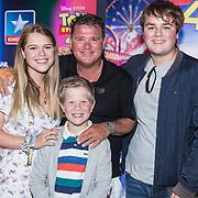 NLD/Utrecht/20190622 - Filmpremiere Toy Story 4, Wolter Kroes met zijn kinderen Pamela, Wolter Jr, Thomas Valentijn