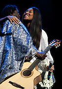 VV Brown and Baaba Maal at the Women of the World Concert Royal Festival Hall