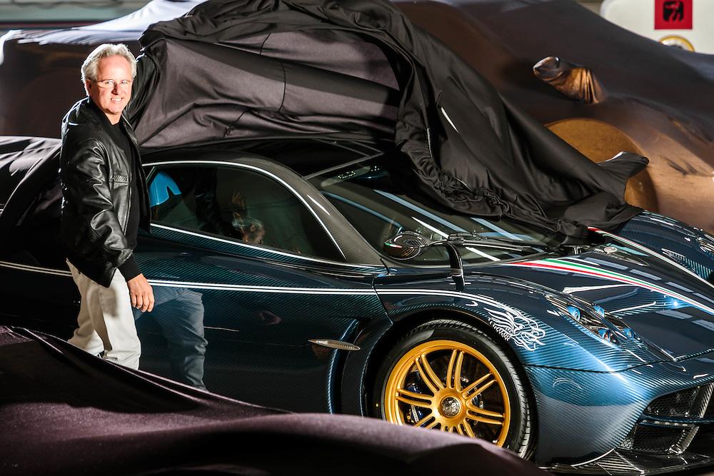 "02 OCT 2015 - San Cesario sul Panaro (MO) - ""Pagani Automobili"": Horacio Pagani."
