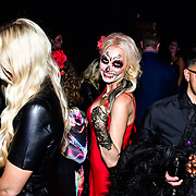 Claire Petulengro is a Celebrity Astrologer & Clairvoyante attends the preview PhoboPhobia Live Halloween Show on 10th October 2019, at The London Bridge Experience & London Tombs, London, UK.