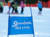 1st run of the Gus Pitou Memorial Giant Slalom at Gunstock, Gilford, NH