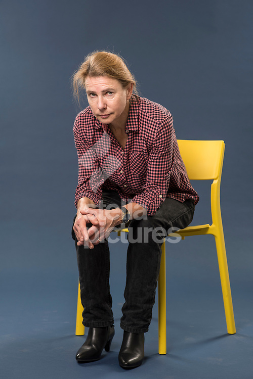 American journalist and author Lionel Shriver pictured in the Evening Standard studios.<br /> Picture by Daniel Hambury/@stellapicsltd 07813022858<br /> 05/03/2018