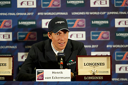 Von Eckermann Henrik, SWE<br /> Longines FEI World Cup Jumping Final IV, Omaha 2017 <br /> © Hippo Foto - Dirk Caremans<br /> 03/04/2017