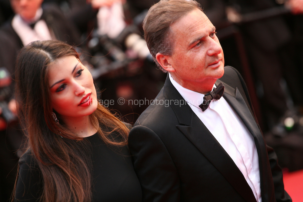 Yasmine Besson and Eric Bessonat the All Is Lost film gala screening at the Cannes Film Festival Wednesday 22nd May 2013