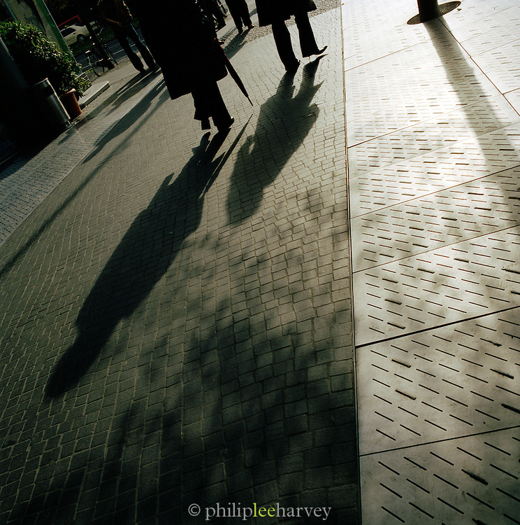 Shadows and silhouettes, Berlin, Germany