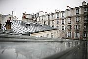 Sunday March 30th 2008.  .Paris, France..In an apartment.Rue des Vinaigriers, 10th Arrondissement..