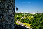 Panorama Będzina, widok z zamku, Polska<br /> Panorama of Będzin, view from the castle, Poland