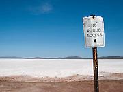Lake Gairdner, dried up to create a salt flat, Gawler Ranges, South Australia, Australia