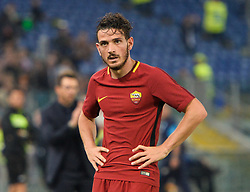 October 14, 2017 - Rome, Italy - Alessandro Florenzi during the Italian Serie A football match between A.S. Roma and S.S.C. Napoli at the Olympic Stadium in Rome, on october 14, 2017. (Credit Image: © Silvia Lore/NurPhoto via ZUMA Press)