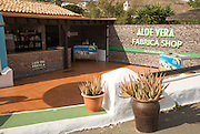 Aloe Vera factory shop in Betancuria, Fuerteventura, Canary Islands, Spain