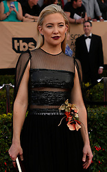 January 29, 2017 - Los Angeles, California, United States - Kate Hudson on the red carpet at 23rd Annual Screen Actors Guild Awards  at The Shrine Expo Hall in Los Angeles on Sunday, January 29, 2017. (Credit Image: © John Mccoy/Los Angeles Daily News via ZUMA Wire)