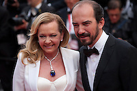 Caroline Scheufele and Alexis Weller at the Closing Palm D'Or Awards Ceremony at the 69th Cannes Film Festival, Sunday 22nd May 2016, Cannes, France. Photography: Doreen Kennedy