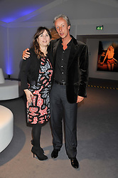 ALEXANDRA SHULMAN and President of VERTU PERRY OOSTING at the Vogue Festival 2012 in association with Vertu held at the Royal Geographical Society, London on 20th April 2012.