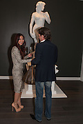 AMY YAU; MARCEL JEAN VAS; , Vogue's Fashion night out special opening of the Halcyon Gallery.  New Bond St. London. 6 December 2012.