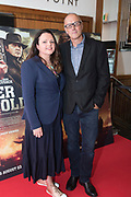 NO FEE PICTURES<br /> 22/8/19 Dominic Wright and Jacqueline Kerrin at the Irish Preview screening of Never Grow Old at the Savoy cinema in Dublin Picture: Arthur Carron
