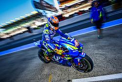 May 18, 2018 - Le Mans, France - 42 ALEX RINS (ESP) TEAM SUZUKI ECSTAR (JPN) SUZUKI GSX RR (Credit Image: © Panoramic via ZUMA Press)