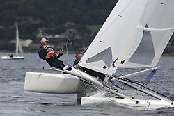 Peelport Clydeport Largs Regatta Week 2013 <br /> <br /> <br /> 1458, Drookit, Hurricane 5.9 SX, Dave Kent, Ian Kent<br /> <br /> Largs Sailing Club, Largs Yacht Haven, Scottish Sailing Institute
